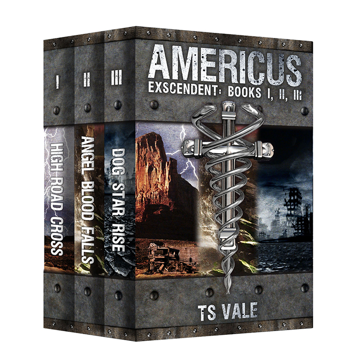 AMERICUS Series: Exscendent, Books I, II, & III